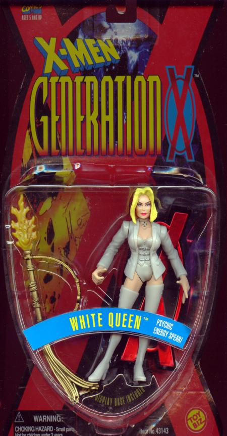 White Queen Figure Flesh Thighs X-Men Generation X