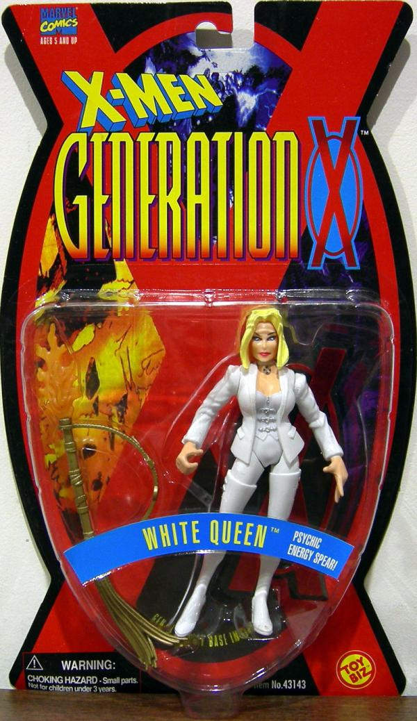 White Queen Generation X action figure