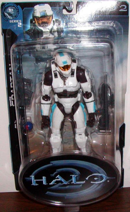 White Spartan Halo 2 Series 2 action figure