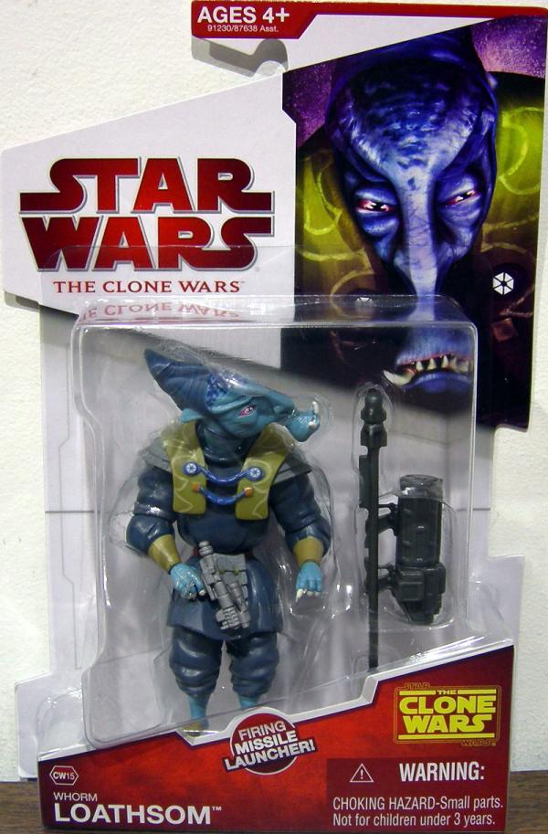 Whorm Loathsom CW15 Star Wars Clone action figure