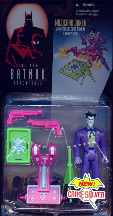 Wildcard Joker Action Figure New Batman Adventures Crime Solver