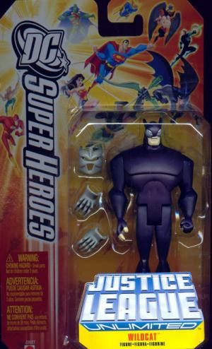 Wildcat Figure Justice League Unlimited DC SuperHeroes