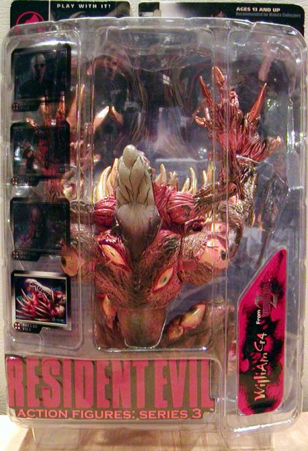 William G4 Resident Evil 2 Action Figure Series 3