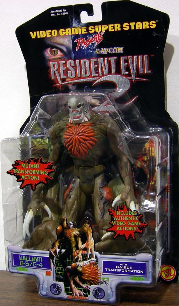 William G-3  G-4 Resident Evil 2 Platinum action figure