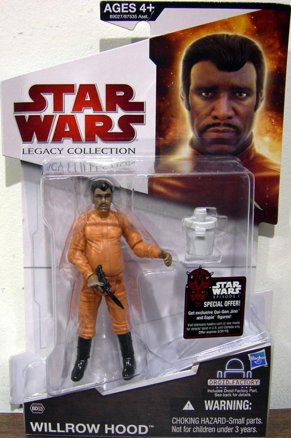Willrow Hood BD53 Action Figure Star Wars Legacy Collection