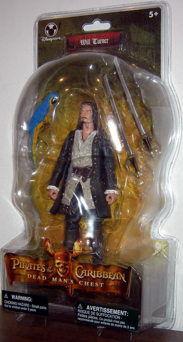 Will Turner Dead Mans Chest Disney Store Exclusive action figure