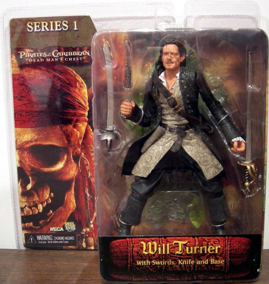 Will Turner Dead Mans Chest Pirates Caribbean Series 1 action figure