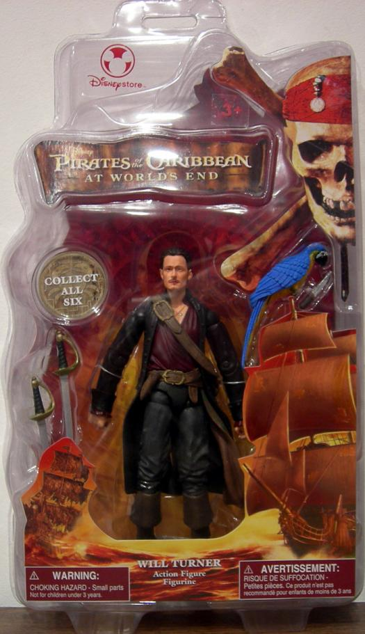 Will Turner Pirates Worlds End Disney Store Exclusive action figure