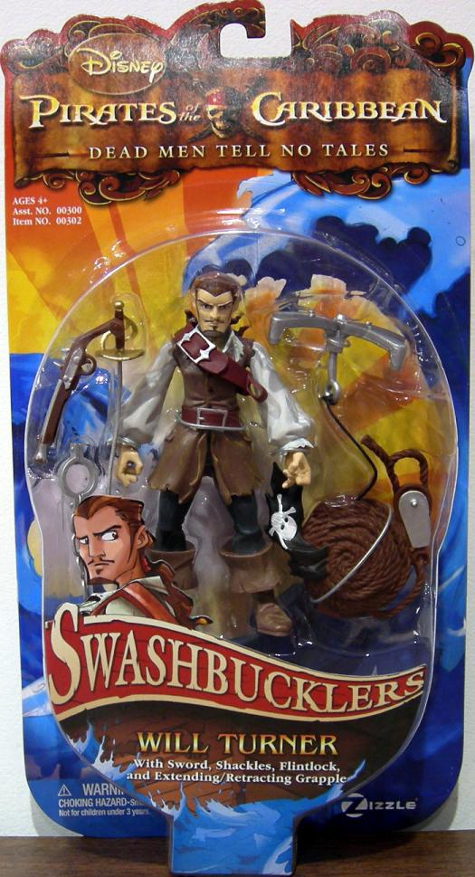 Will Turner Swashbucklers Dead Men Tell No Tales action figure