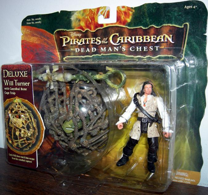 Will Turner Deluxe Pirates Caribbean Dead Mans Chest action figure