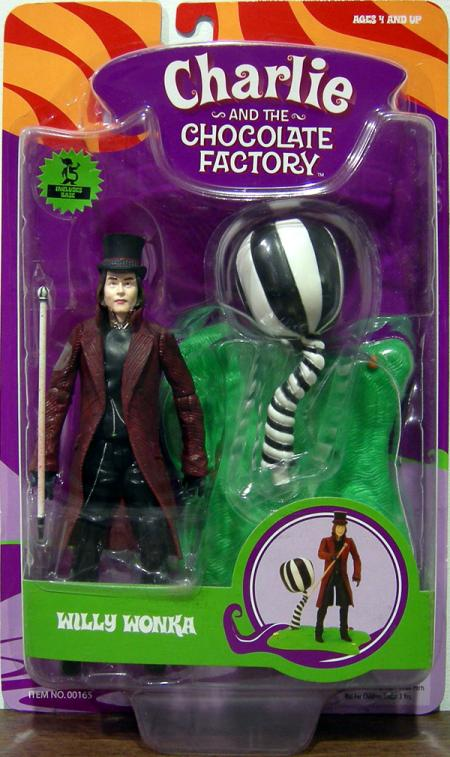 Willy Wonka Action Figure Charlie Chocolate Factory