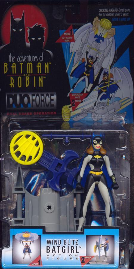 Wind Blitz Batgirl Figure Adventures Batman Robin DuoForce