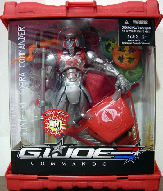 Windfire Cobra Commander GI Joe Commando action figure