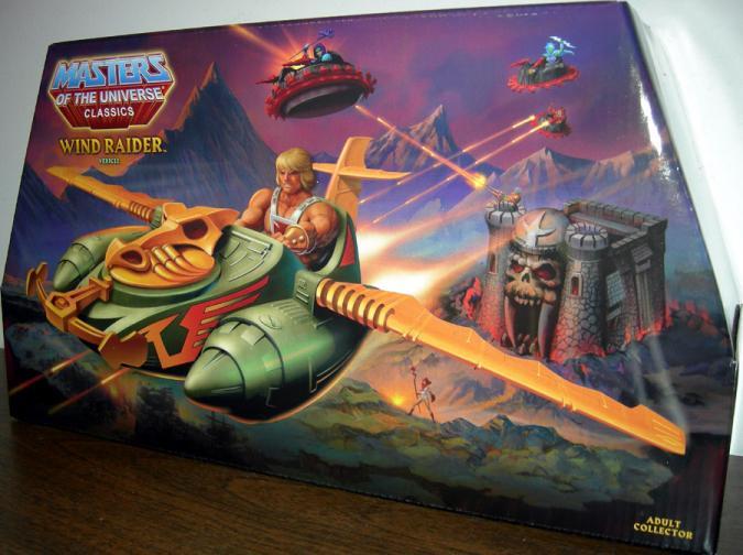 Wind Raider Vehicle Classics Masters Universe He-Man