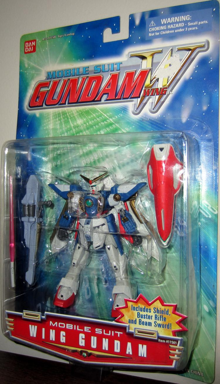 Wing Gundam Mobile Suit Action Figure Bandai
