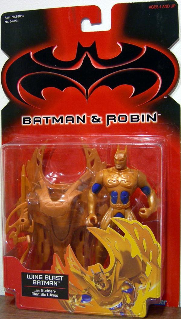 Wing Blast Batman Batman Robin action figure