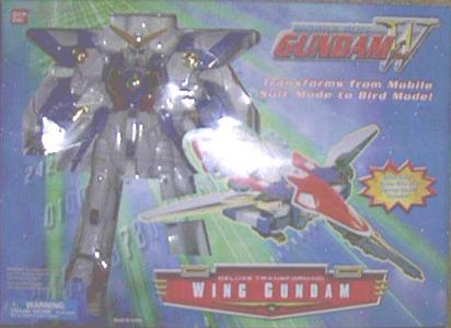 Transforming Wing Gundam Deluxe Mobile Suit action figure