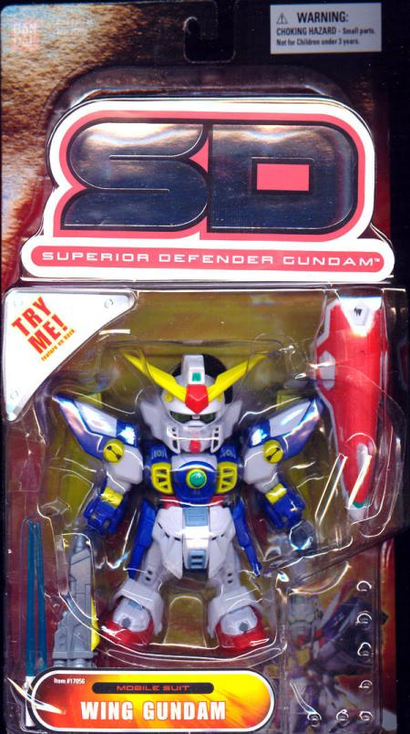 Wing Gundam SD Superior Defender Mobile Suit action figure