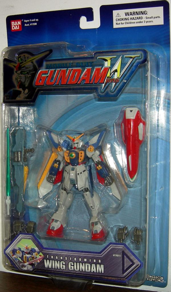 Wing Gundam Transforming Mobile Suit action figure