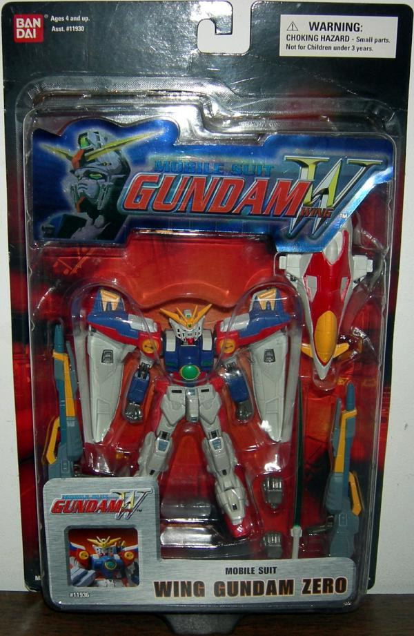 Wing Gundam Zero Red Card Mobile Suit action figure