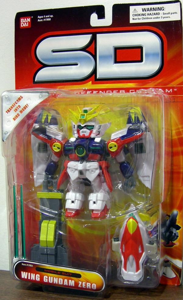 Wing Gundam Zero SD Superior Defender action figure
