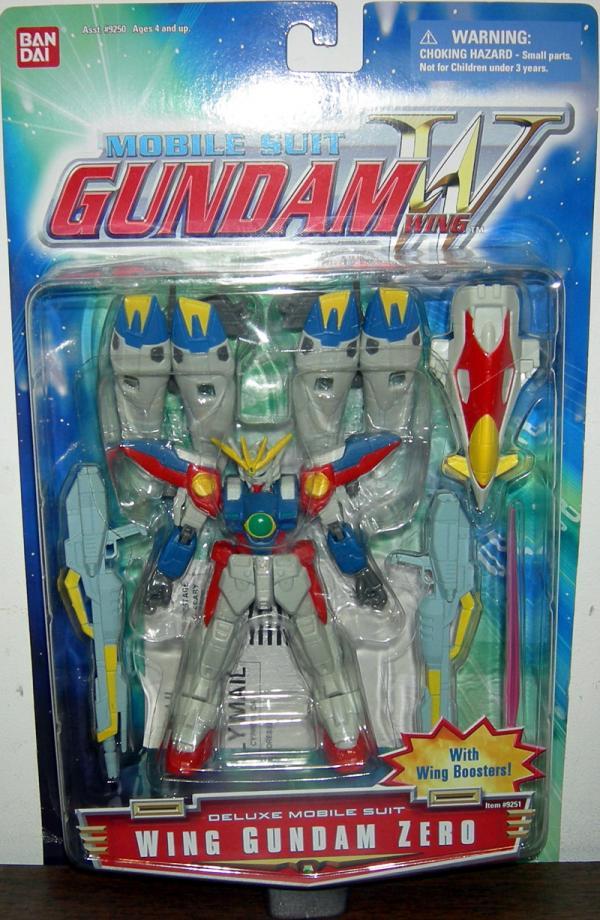 Wing Gundam Zero Mobile Suit action figure