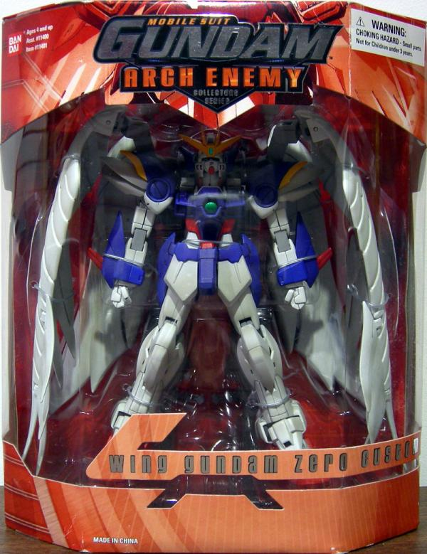 Wing Gundam Zero Custom Arch Enemy Red Box Mobile Suit action figure