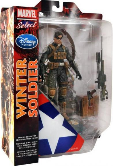 Winter Soldier Marvel Select Disney Store Exclusive action figure