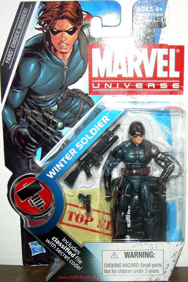 Winter Soldier Figure Marvel Universe Series 2 022 Hasbro