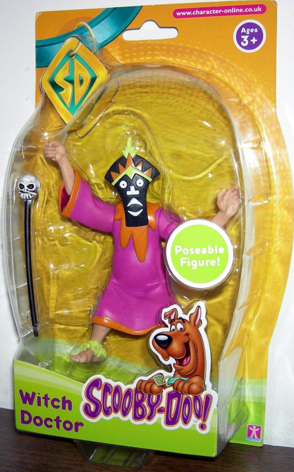 Witch Doctor UK Exclusive Scooby-Doo action figure