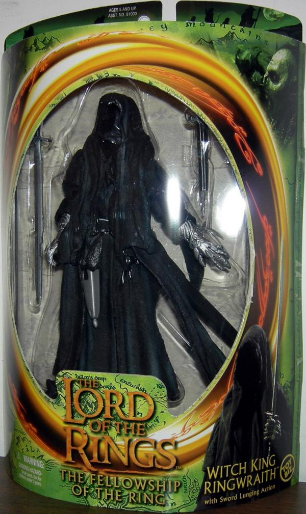 Witch King Ringwraith Lord Rings Fellowship Ring Movie action figure