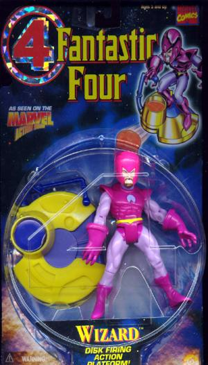 Wizard Fantastic 4 Four Animated Series action figure