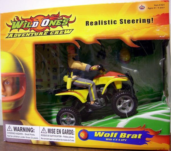 B-Bel Wild Ones Adventure Crew ATV Rider