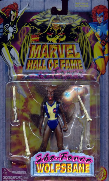 Wolfsbane Marvel Hall Fame She-Force action figure