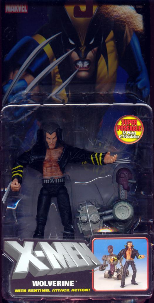 Wolverine Sentinel Attack Action Figure X-Men 2004