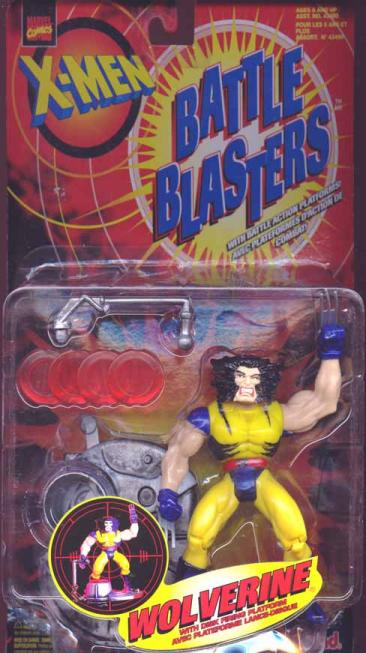 Wolverine Battle Blasters Action Figure Canadian X-Men