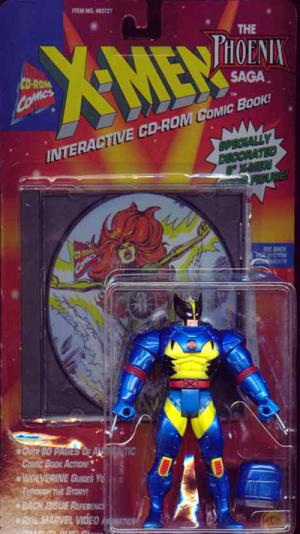 Wolverine Interactive CD-ROM Comic Book X-Men action figure