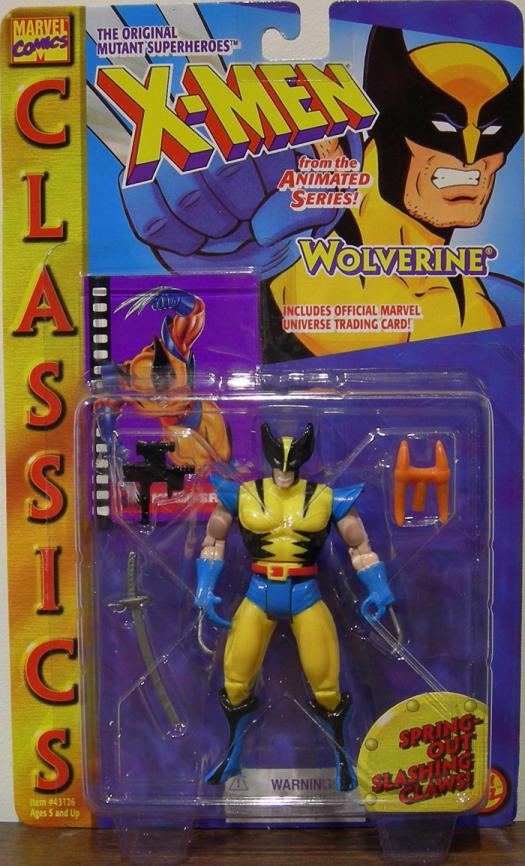 Wolverine Classics Figure X-Men Spring-Out Slashing Claws