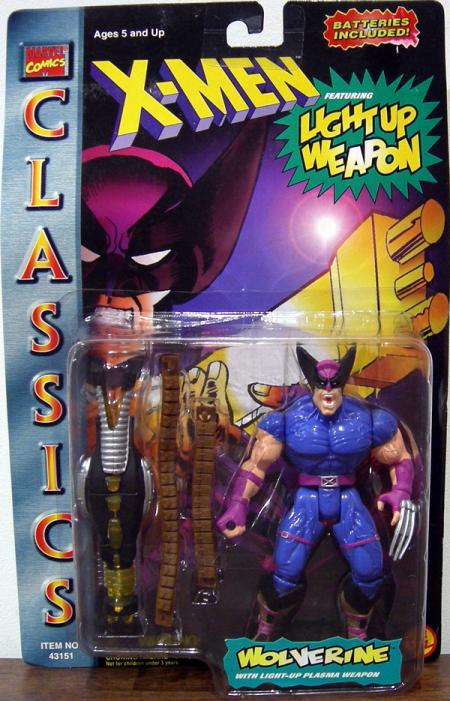 Wolverine X-Men Classics Light Up Weapon action figure