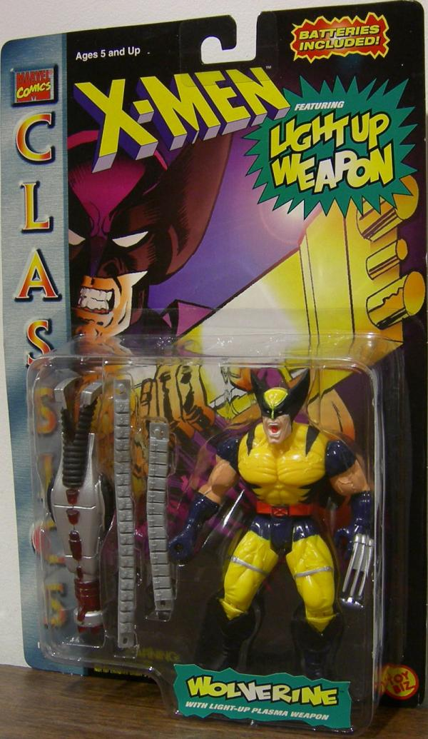Wolverine Classics Action Figure Light Up Weapon Repaint X-Men