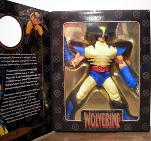 8 inch Wolverine, Famous Covers, yellow costume