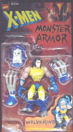 Wolverine Monster Armor Action Figure X-Men Toy Biz
