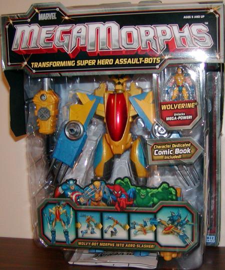 Wolverine Megamorphs X-Men action figure