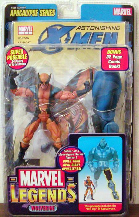 Wolverine Marvel Legends Action Figure XII Apocalypse Series