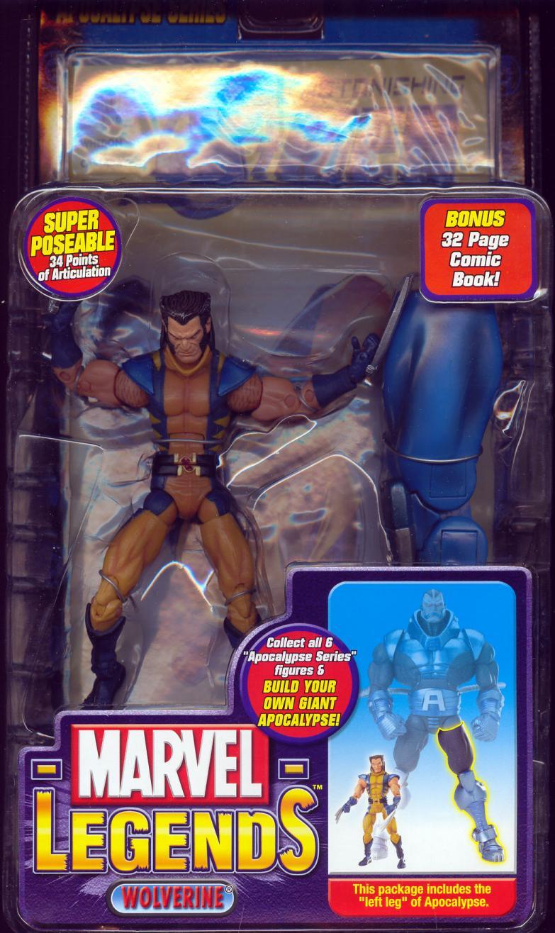 Wolverine Marvel Legends XII Unmasked Apocalypse Series action figure