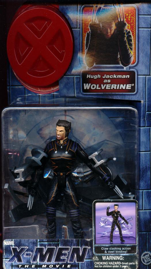 Wolverine Action Figure X-Men Movie Hugh Jackman Toy Biz