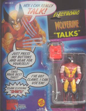 Electronic Wolverine Talks X-Men action figure