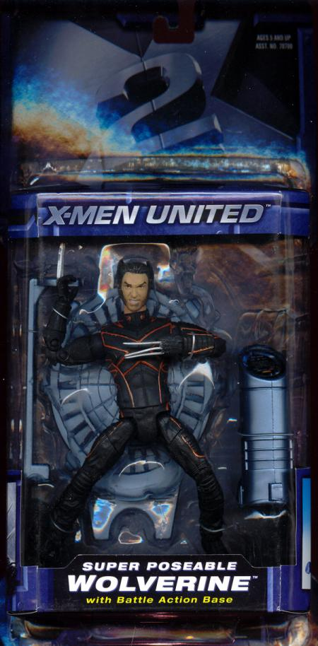 Super Poseable Wolverine X-Men United