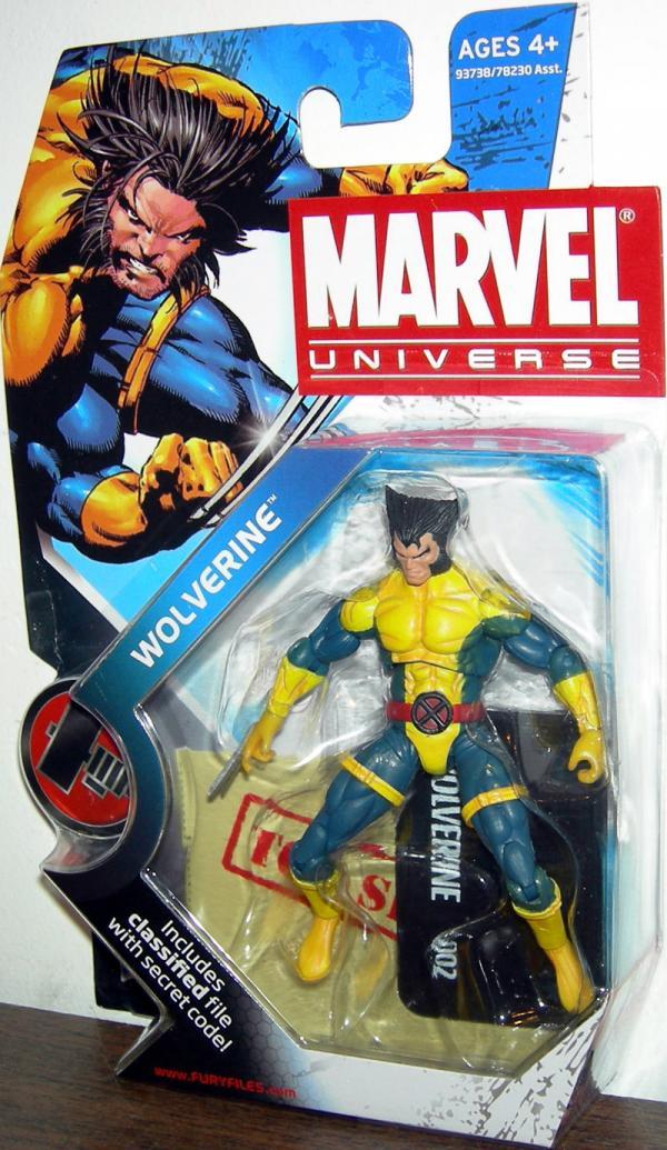 Wolverine Marvel Universe Action Figure Series 2 002 Jim Lee Version