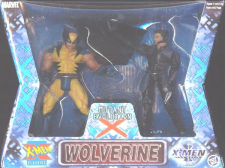 Wolverine-Mutant Evolution X 2-Pack action figures